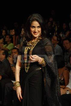Bollywood beauties dazzle on the ramp  Sagrika Ghatke