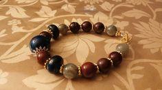 Chakra Balancing Bracelet - Reiki Charged Gemstone Jewelry for Decision Making