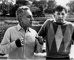 Elia Kazan, James Cagney, Behind The Scenes, Men Sweater, Couple Photos, Movies, Couple Shots, Films, Film