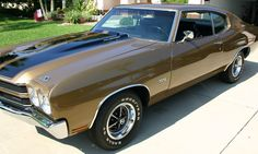 1970 Chevelle SS LS6 454...  My dad has this exact car!!  It's a work of art.  :-)