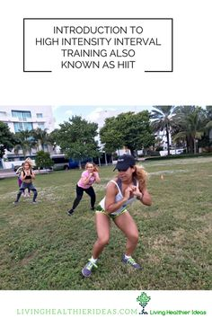 Introduction to High Intensity Interval Training also known as HIIT - Living Healthier Ideas Best Full Body Workout, Lose Fat Workout, Belly Fat Workout, Fat Burning Workout, Best Home Workout Program, Hiit Program, Workout Programs, Flatten Stomach Workout, Steady State Cardio