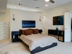 Walk around closet. Master bedroom or guest room