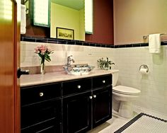 Ask your painter to use low-emitting finishes for cabinetry and millwork to keep the air clean inside your home.