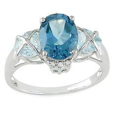 Popular non diamond engagement ring alternatives Rings for women