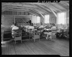 School. Red House, West Virginia. [between 1935 and 1942]. Library of Congress.
