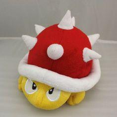 Super Mario Brother Spiny Spinies Red Turtle Hedgehog Plush Doll Stuffed Toy Super Mario Brothers http://smile.amazon.com/dp/B00CUXAKZU/ref=cm_sw_r_pi_dp_FYrUub0X77Y7C