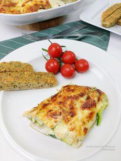 Witlof lasagne om je vingers bij af... | KoolhydraatarmRecept.nl Weight Watchers Menu, Buffet, Food Inspiration, Quiche, Food And Drink, Low Carb, Keto, Pasta, Healthy Recipes