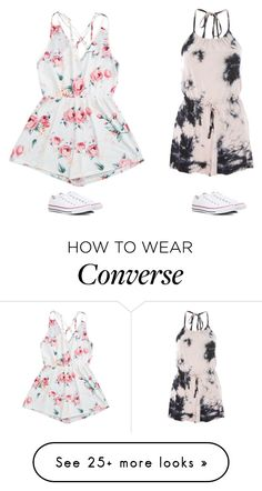 """""""Untitled #3441"""" by laurenatria11 on Polyvore featuring Topshop and Converse"""