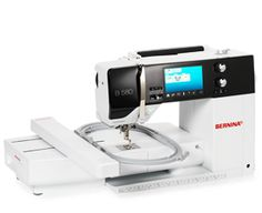 The BERNINA 580: feature-packed sewing, embroidery and quilting – highly versatile for creative freedom.