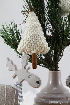 DIY Weihnachtsdeko: Duftende Zimt-Bäumchen  #filizity #diy #weihnachten #deko #xmas #christmas #weihnachtsbaum