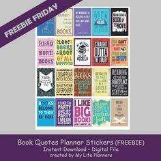 Freebie Friday - April 21, 2017 - My Life Planners