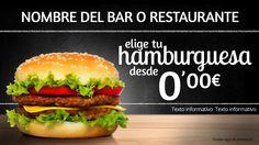 Promocionar una hamburguesa de esta forma, hará que no queden existencias.
