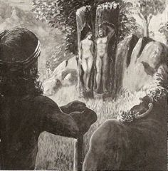 In Norse mythology, Ask and Embla