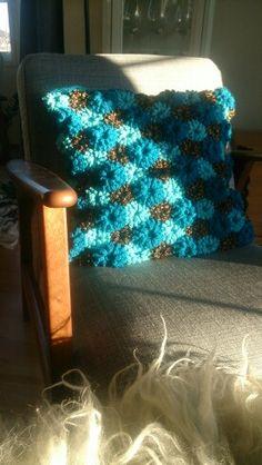 Popcornstitches, crocheting