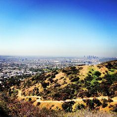 Runyon Canyon Park is a favorite spot for celebrities, exercise enthusiasts & anyone who wants to enjoy the Hollywood hills view.