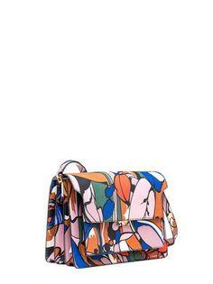 TRUNK bag in shiny calfskin