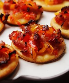 Finger Food Appetizers, Finger Foods, Appetizer Recipes, Cooking Cake, Cooking Recipes, Antipasto, Bruschetta, Buffet, Bakery
