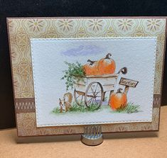 All Personal Feeds Garden Wagon, Small Alphabets, Tombow Markers, Beautiful Birthday Cards, Art Impressions Stamps, Pumpkin Farm, Flower Cart, Beautiful Farm, Letter Set