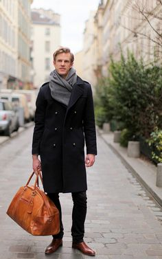 Still cold enough for some winter layers.  #menswear #fashion