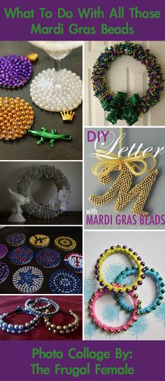 What To Do With All Of Those Leftover Mardi Gras Beads