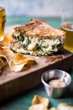 Irish Pub Spinach and Artichoke Melt