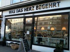 Was das Herz begehrt - Café und mehr … Fuhlsbüttler Straße 157  Dienstags bis Freitags von 12-19 Uhr  Samstags von 11-18 Uhr
