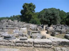 The Greek Classical Site of Olympia