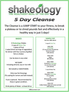 Erica Lynn Fitness: Shakeology Cleanse