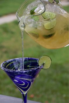Super easy to make Beer Margaritas
