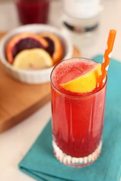 Blood Orange Snowbird Spritzer