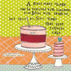 I do love cake