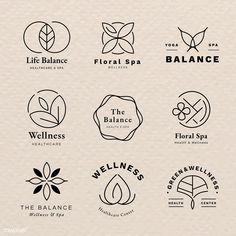 Premium image by Cosmetic Logo, Brand Identity Design, Branding Design, Spa Branding, Corporate Branding, Restaurant Logo, Skincare Logo, Spa Logo, Church Logo