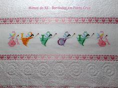 Toalha de Banho - Monograma de Fadinhas da Alicia