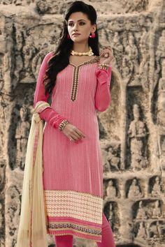 Simple & Shobber Georgette Designer Salwar Kameez