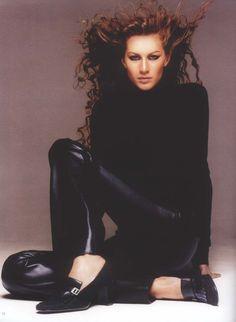 Céline Fall 1999 | Gisele Bundchen by Patrick Demarchelier