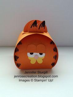 Jen Rose Creation: Garfield Curvy Keepsake Box