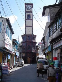 The Clock tower in Landour Bazar  Google Image Result for http://mw2.google.com/mw-panoramio/photos/medium/4028487.jpg