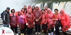 Una de nuestras excursiones a las Cataratas del Iguazú.