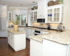 White Kitchen With White Appliances dark kitchen cabinets and white appliances not bad! | for the