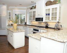 White Appliances Design - I want this kitchen