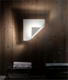 Overlay Contemporary Wall Light with LEDs..Unusual style
