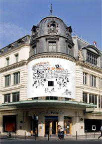 Le Bon Marché #Paris #shopping #accorcityguide // The nearest AccorHotels is Ibis Paris Tour Montparnasse
