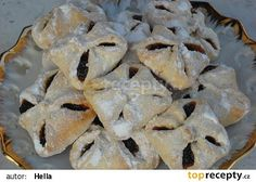 Půlroční koláčky Cinnamon Stars Recipe, Filled Cookies, Czech Recipes, Croatian Recipes, Dried Apricots, Desert Recipes, Quick Easy Meals, Raisin, Food Hacks
