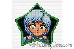Sailor Star Healer Cross Stitch Pattern