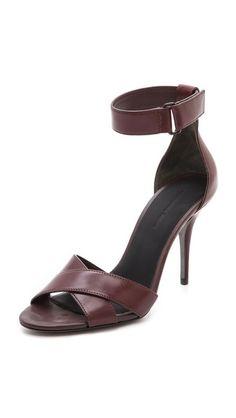 Alexander Wang Drielle Ankle Strap Sandals (COLOR)