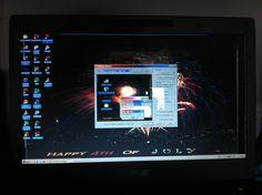 4th of July Theme Windows 2000