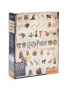Harry Potter Icons 1000-Piece Jigsaw Puzzle,