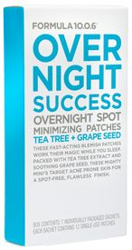 $5.99 | Over Night Success | Overnight Success are fast-acting cleansing patches that work their magic while you sleep, so you can wake to a flawless complexion.
