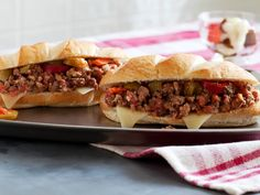 21 Big Game Sandwich Recipes