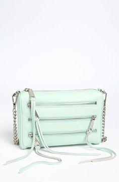 Rebecca Minkoff '5 Zip - Mini' Crossbody Bag available at #Nordstrom